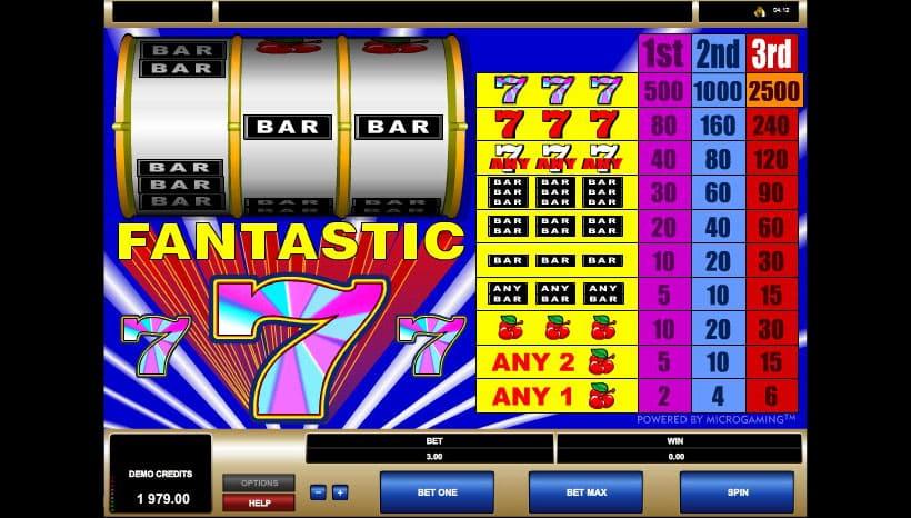 игровой автомат fantastic 777