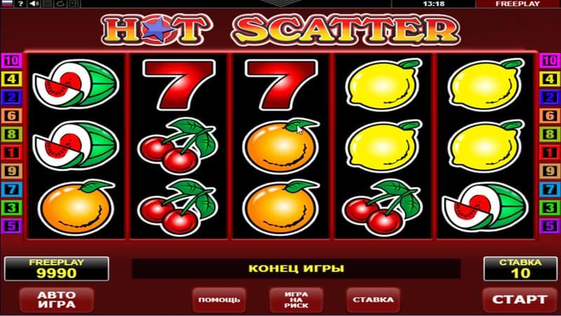 hot seven игровой автомат